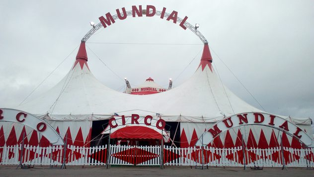 El circo mundial duerme